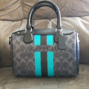 Coach satchel hand bag